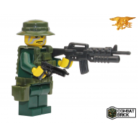 Custom LEGO Army Military Builder Toy Minifigure Navy Seal Operator