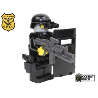 Custom LEGO Army Military Builder Toy Minifigure SWAT Assault Officer