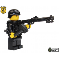 Custom LEGO Army Military Builder Toy Minifigure SWAT Assault Breacher Officer