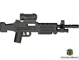 LEGO M249 SAW Light Machine Gun