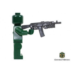 Custom-LEGO-Assault-Rifle-AK-74-with-Grenade-Launcher-Gray-1