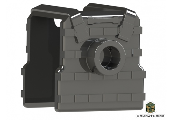 LEGO Plate Carrier Vest Body Armor with stud back